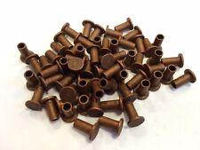 100 Nieten Niete 5x12 mm Kupfer DIN 7338B für Bremsbelag Bremsbeläge