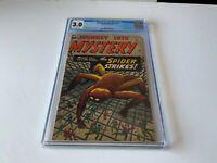 JOURNEY INTO MYSTERY 73 CGC 3.0 MEDUSA GORGON SPIDER STIKES MARVEL COMICS 1961