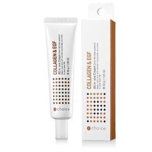 Collagen & EFG All in one Moisturizing Cream 30g Anti Winkle Cream Made in korea