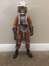 Star Wars LUKE SKYWALKER X-Wing Pilot Action Figure 2013 w/Helmet Working London