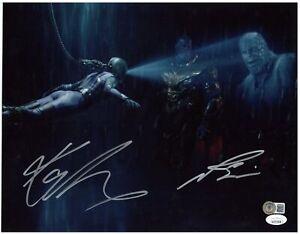 Josh Brolin & Karen Gillan Autographed 11x14 Photo Avengers Thanos Nebula BAS