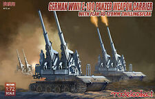 Preorder Modelcollect UA72109 1/72 German WWII E-100 panzer weapon carrier with