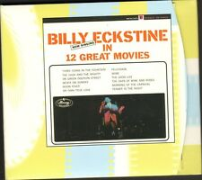 BILLY ECKSTINE In 12 Great Movies CD DIGIPACK Moon River MORE Tonight FELICIDADE