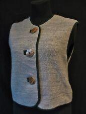 warm ALMRAUSCH Salzburger Trachenmode Wollweste Gilet Bolero Strickweste Vintage