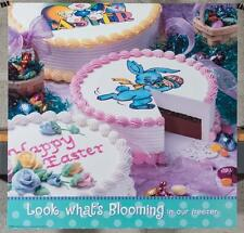 Dairy Queen Promotional Poster For Backlit Menu Sign Easter Cakes dq2