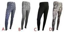 Slim, Skinny, Treggins Nylon Leggings Pants for Women