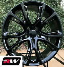 "fits Grand Cherokee SRT Spider Monkey style Wheels 20 x9"" Gloss Black Rims"