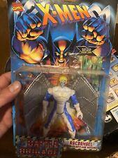 New Marvel X-Men Archangel Battle Brigade Action Figure ToyBiz 1995