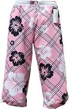 Pantaloncini da Bagno Bermuda 3/4 Cargo Casual ROSA PINK in S M L XL XXL XXXL 2xl 3xl