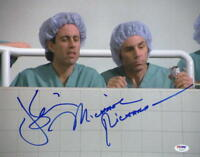 JERRY SEINFELD MICHAEL RICHARDS SIGNED 11X14 PHOTO AUTHENTIC AUTOGRAPH PSA LOA