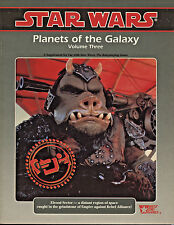 1993 Planets of Galaxy Vol 3-Star Wars Role Playing Game-West End(40072)