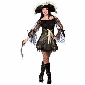 Pirate Treasures, adult Ladies womens costume, Wicked Costumes Various Sizes UK