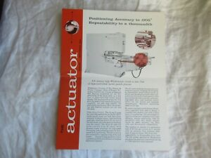1964 Actuator punch press brochure