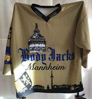 BODY JACKS MANNHEIM Fantrikot Nr. 33 ERICHSEN C. Eishockey Gr XL