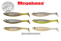 Megabass Hazedong Shad Swimbait Paddle Tail Flavor-X 4.2in 5pk - Pick