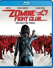 Zombie Fight Club (Blu-ray Disc,2016)Brand New with Slipcover,Same Day Shipping
