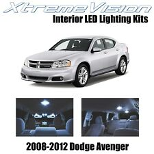 XtremeVision LED for Dodge Avenger 2008-2012 (10 Pieces) Cool White Premium Inte
