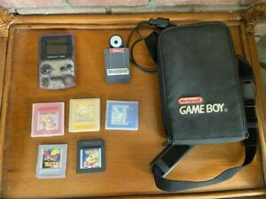 Nintendo Color Gameboy Bundle~Atomic Purple~5 Games, Camera ~3 Pokémon Games