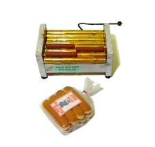 Dollhouse Diner Hot Dog Grill Set for 1:12 Scale Doll House Miniature Restaurant