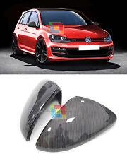 SPECCHI IN CARBONIO - VW GOLF 7 2012+ COPERTURE CALOTTE SPECCHIETTI RETROVISORI