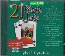 Grupo Yndio 21 Black Jack CD New Nuevo sealed