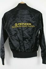VTG Pioneer Satin Jacket Swingster sz Small Because The Music Matters
