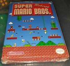 Super Mario Rebirth Nintendo NES CIB RARE Complete Awesome