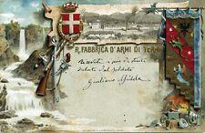 * TERNI : R. FABBRICA D'ARMI DI TERNI * Viaggiata 1904
