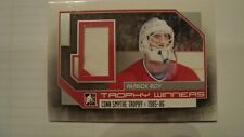 PATRICK ROY CONN SMYTHE TROPHY WINNERS GAME USED JERSEY CARD ITG FOREVER RIVALS