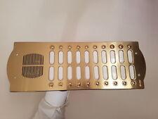 ELVOX 2220 Patavium placca ottonata 20 pulsanti 2 file con scatola incasso