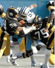 JACK LAMBERT/JOE GREENE SBXIII 1/21/79 CRUSHING TONY DORSETT COLOR 8X10