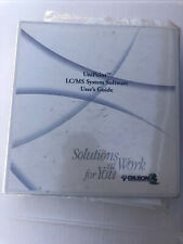 Gilson Unipoint Lcms System Software Users Guide Manual Binder 321 322 Pumps