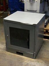 """Edsal Csc6900agy 26"""" x 22"""" x 21"""" CRT Computer Monitor Cabinet Enclosure Qty. 1"""
