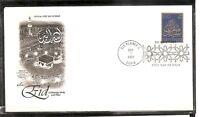 US SC # 3532 EID Mubarak FDC. Artcraft Cachet