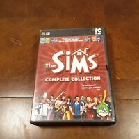 Sims: Complete Collection (PC: Windows, 2005) DISC ONLY FAST SHIPPING