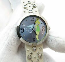TINKERBELL, Disney, Classic Round Dial, LADIES CHARACTER WATCH,784, L@@K!