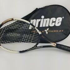 Prince TT Triple Threat Bandit OS OverSize 110 Head Tennis Racquet B950 w/ Case