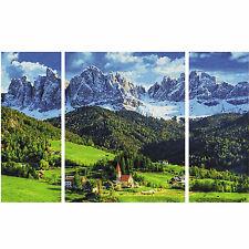 St. Magdalena in Südtirol Triptychon  Malen nach Zahlen Schipper 609260760