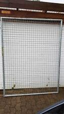 Stabile Zaunelemente / Gitter verzinkt mit Pfosten unterschiedliche Größe