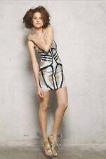 Sass & Bide Geometric Above Knee, Mini Dresses