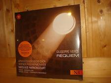 Verdi Requiem HARNONCOURT Live 2004 RED RED SEAL 2 LP NEW SEALED