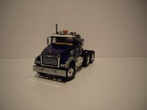 FIRST GEAR 1/50 BLUE MACK GRANITE MP DAY CAB SAME SCALE AS DIECAST MASTER