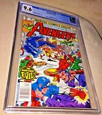 Avengers #182, CGC 9.6, Off-White to White Pages