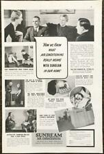 1938 Sunbeam Air Conditioning PRINT AD Fox Furnace Co Elyria OH