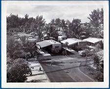 vintage photo camping caravan trailer mobil home village foto Florida US ca 1952