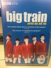 BIG TRAIN COMPLETE SERIES 1&2 ALL EPISODES GENUINE REGION 2 DVD CLASSIC