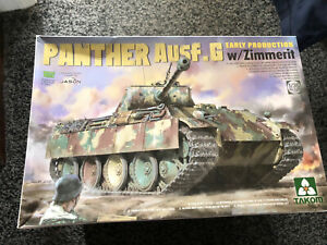 TAKOM 2134 1/35 Panther Ausf.G Early Production w/Zimmerit