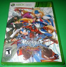 Blazblue: Continuum Shift Extend Xbox 360 -  Factory Sealed! Free Shipping!