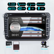 8'' Car DVD Player Radio Stereo GPS Nav Unit For VW Passat B6 Golf Tiguan+Camera