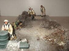 Petits soldats dioramas allemands